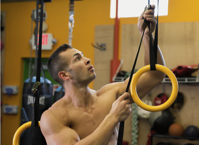 Set up Gymnastic Rings